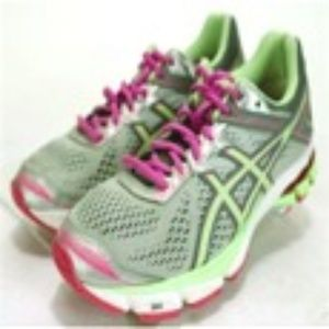 ASICS GT-1000 4 Women's Running Shoes Sz 8.5  Gray